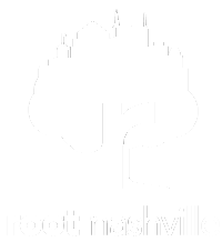 Root Nashville logo white