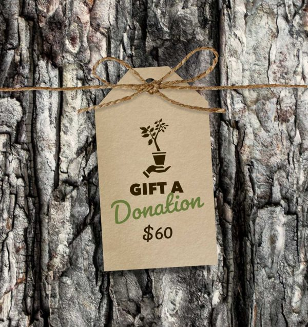 Gift Donation tag