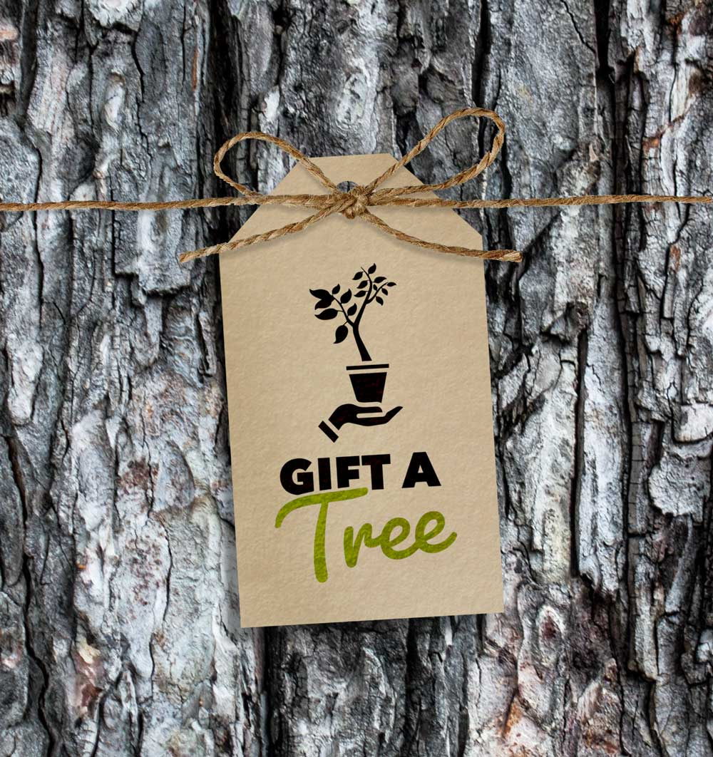 Gift A Tree tag Root Nashville